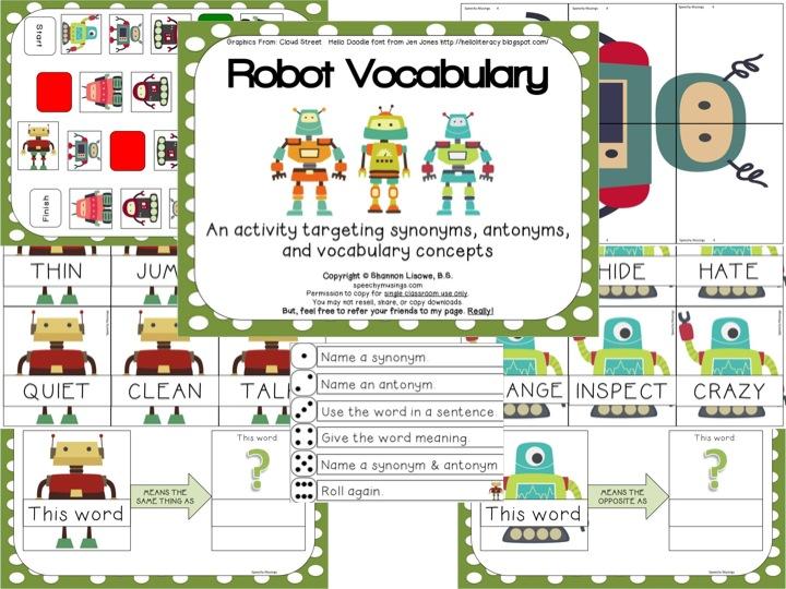 Robot Vocabulary