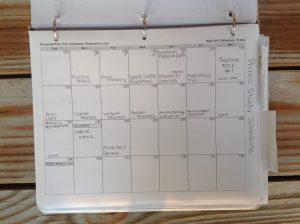 Praxis exam study calendar