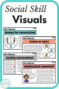 social skill visuals